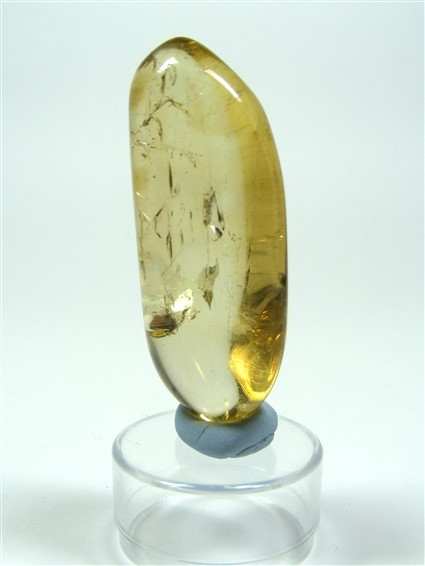 Polished Natural Citrine Point No1