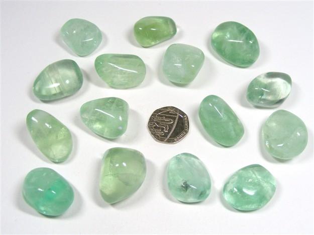 Fluorite - Green, Tumble Stone