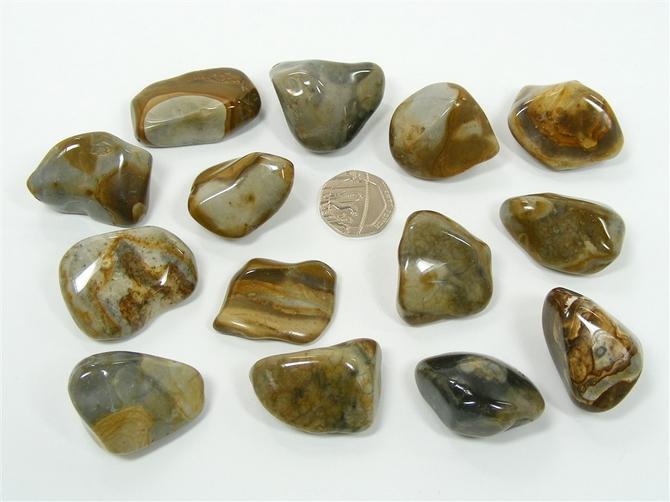 Crop Circle Stone, Tumble Stone