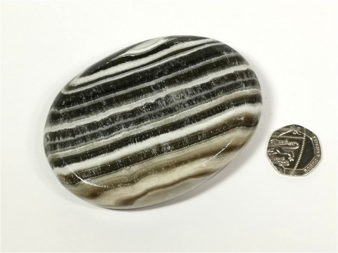 Mexican Onyx Large Palm Stone No3 - you will receive this exact palm stone