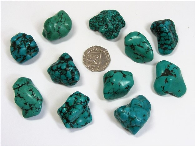 Turquoise Tumble Stone from China