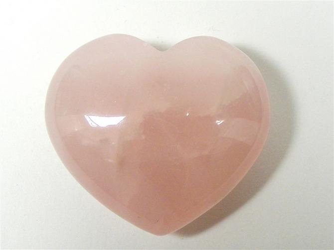 Rose Quartz Heart No4 - 40mm