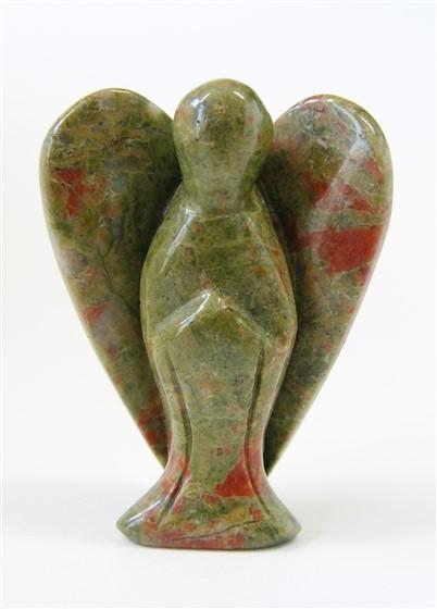 Unakite Angel, approx 50mm tall