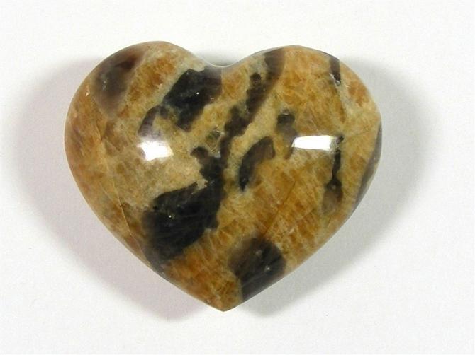 Graphic Feldspar Heart No1 - 60mm