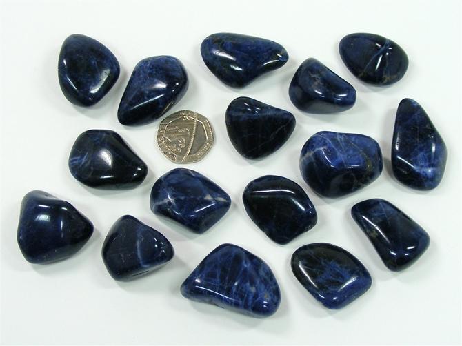 Sodalite A Grade Tumble Stone