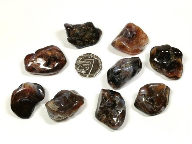 Agate - Fire, Tumble Stone