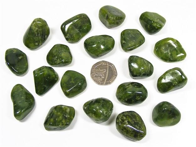 Vesuvianite (Idocrase) Tumble Stone