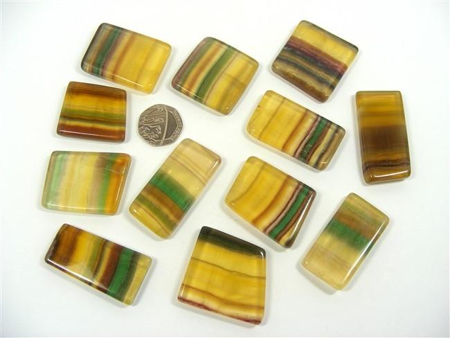 Argentina Fluorite Polished Slices