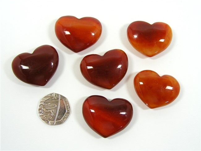 Carnelian Mini Heart