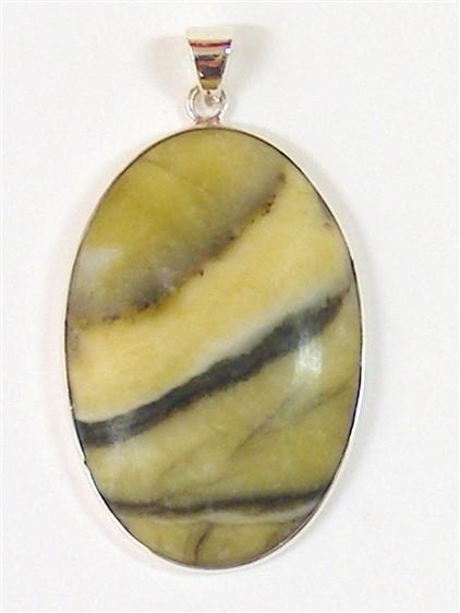 Scottish Green Marble Pendant No1