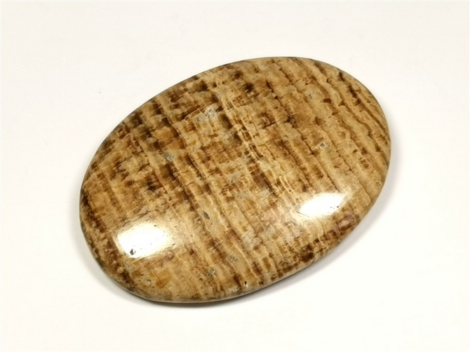 Aragonite Large Palm Stone No1 - you will receive this exact palm stone