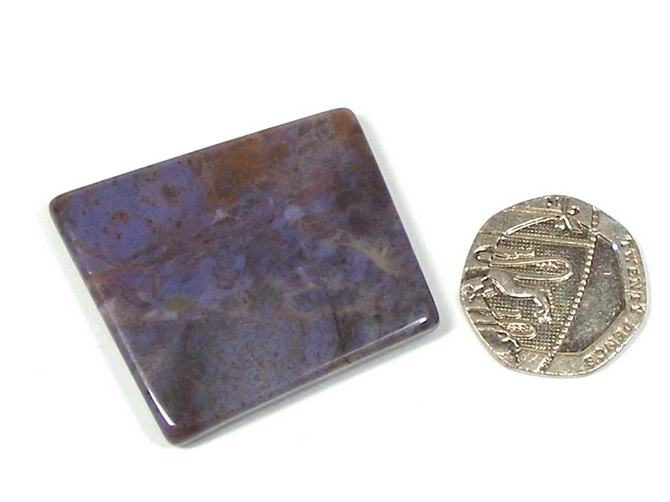Purple Jade Polished Slice No1
