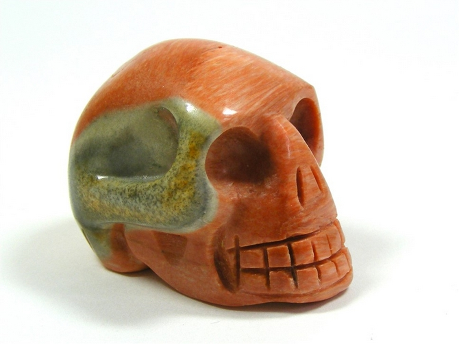 Celestobarite Skull No1 - 50mm, 123grms