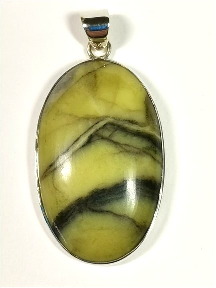 Scottish Green Marble Pendant No4