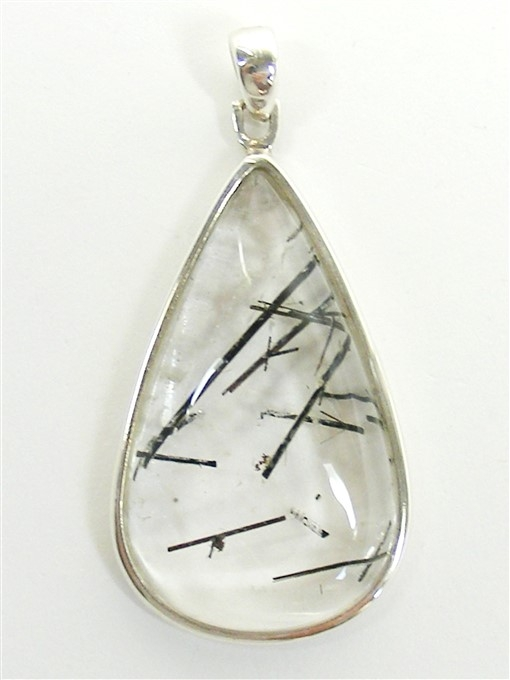 Tourmaline quartz pendant he hi she lo crystals tourmalinated quartz pendant aloadofball Image collections