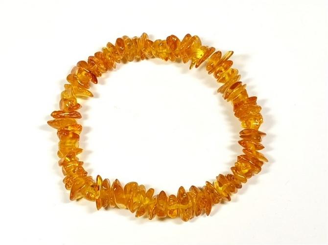 Amber Chip Bracelet