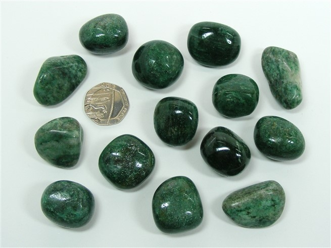 Fuchsite Tumble Stone