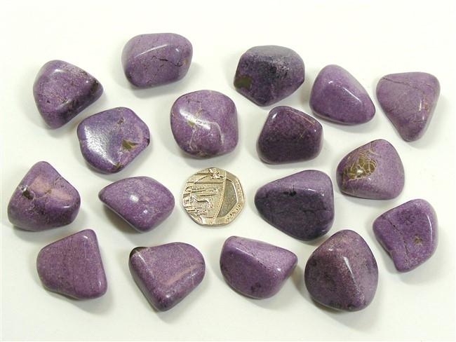 Stichtite Tumble Stone - Extra Quality