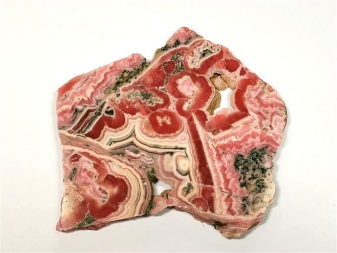 Superb Polished Rhodochrosite Slice