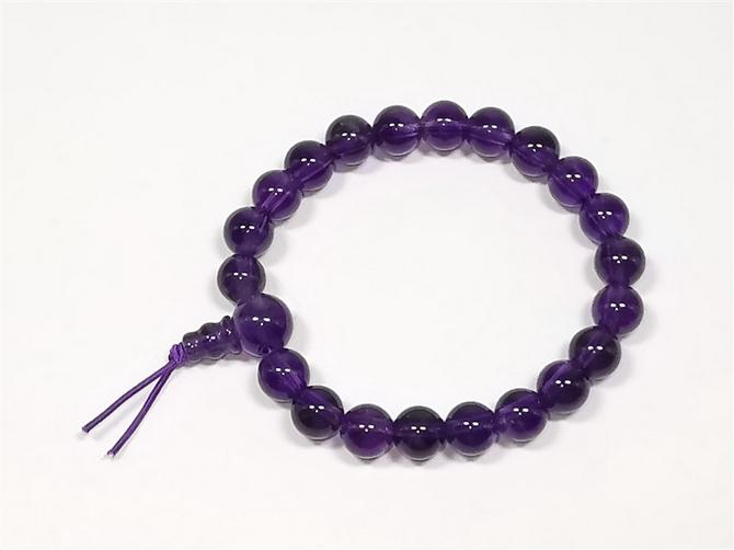 Amethyst, A Grade, Power Bracelet