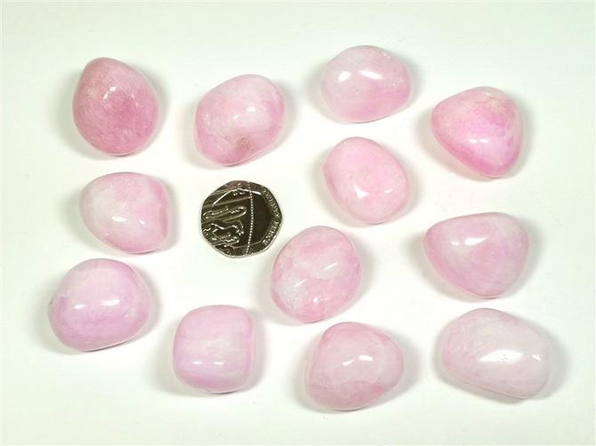 Aragonite - Pink, Tumble Stone