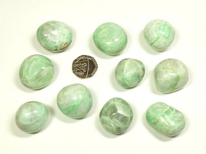 Garnierite Tumble Stone