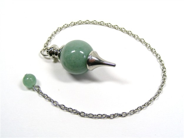 Pendulum with Green Aventurine Ball