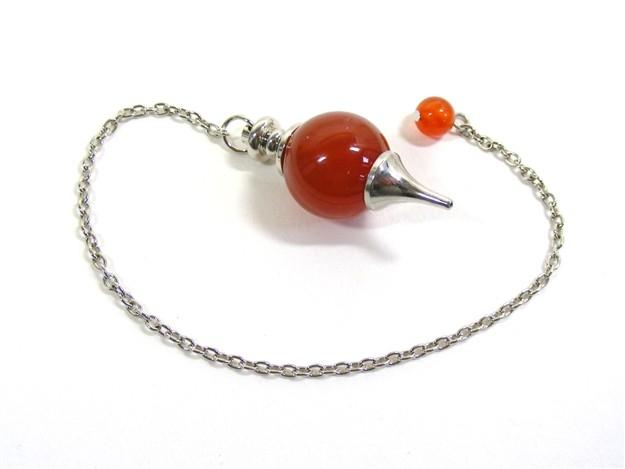 Pendulum with Carnelian Ball