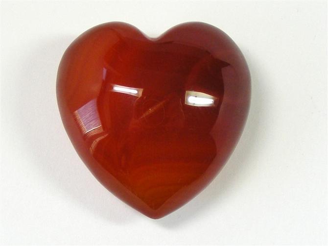 Good Size Carnelian Heart No2