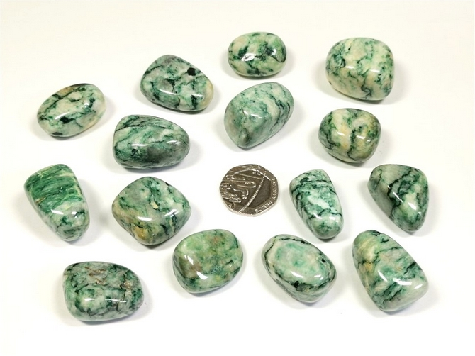 Mariposite Tumble Stone