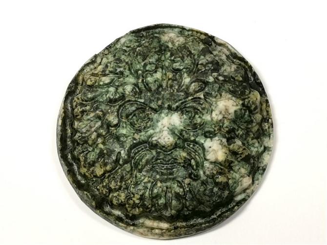 Preseli Bluestone Green Man Carving No2