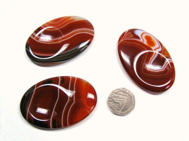 Carnelian Large Thumb Stone