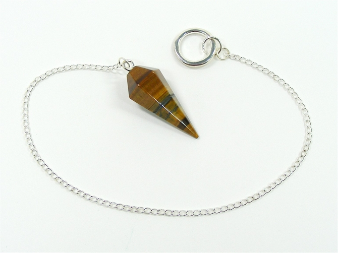 Pendulum with Tigers Eye