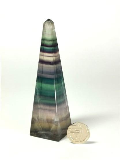 Fluorite Obelisk No2