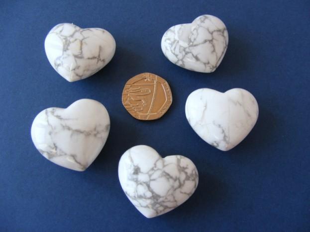 Howlite Mini Heart