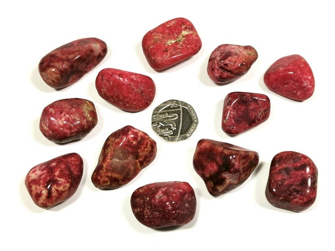 Thulite Tumble Stone