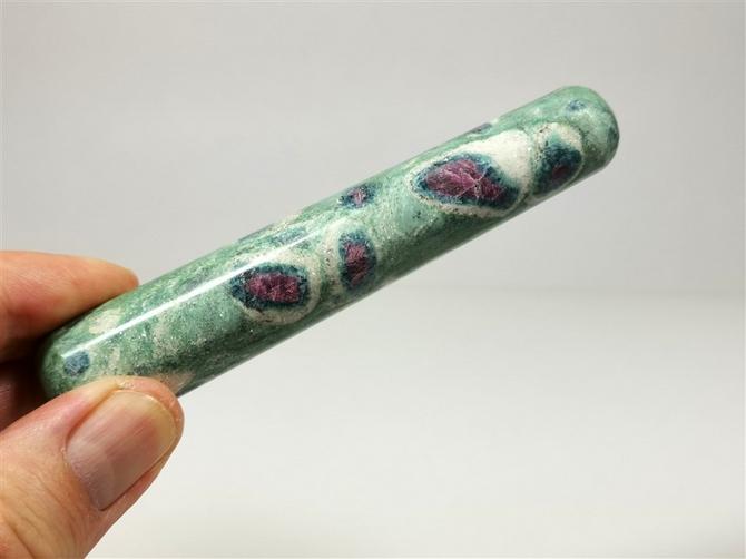 Ruby in Fuchsite Wand No3, 120mm long
