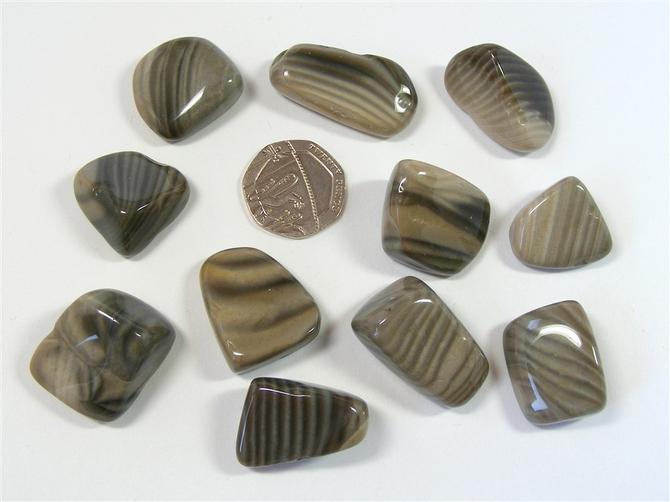 Flint from Poland, Tumble Stone
