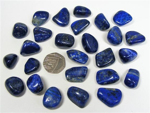 Lapis Lazuli Tumble Stone - Smaller