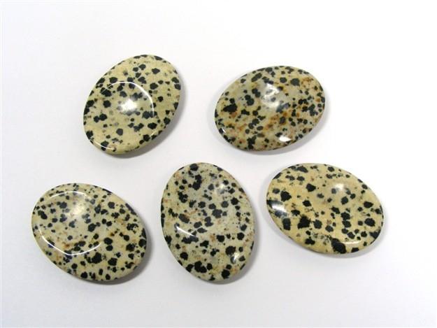Dalmatian Jasper Thumb Stone