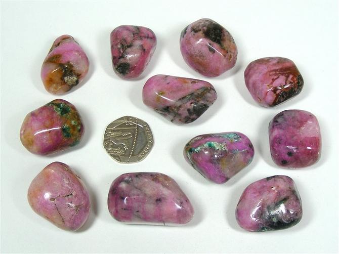 Cobalto Calcite Extra Quality Tumble Stone