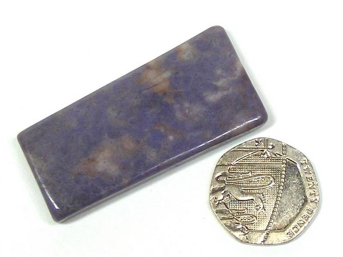Purple Jade Polished Slice No8