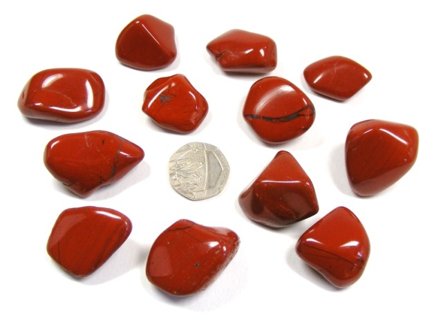 bright product red gemstone jasper bowls wholesale