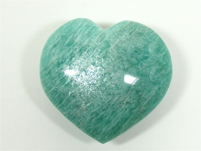 Amazonite Heart - 60mm