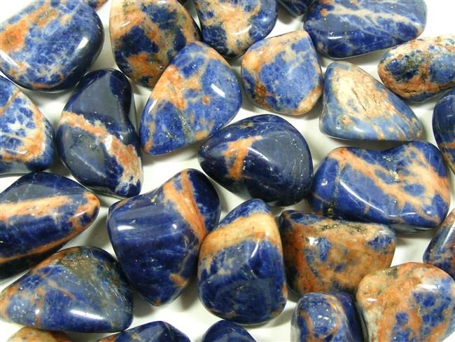 93849df9274 Sunset Sodalite Tumble Stone - He Hi She Lo Crystals
