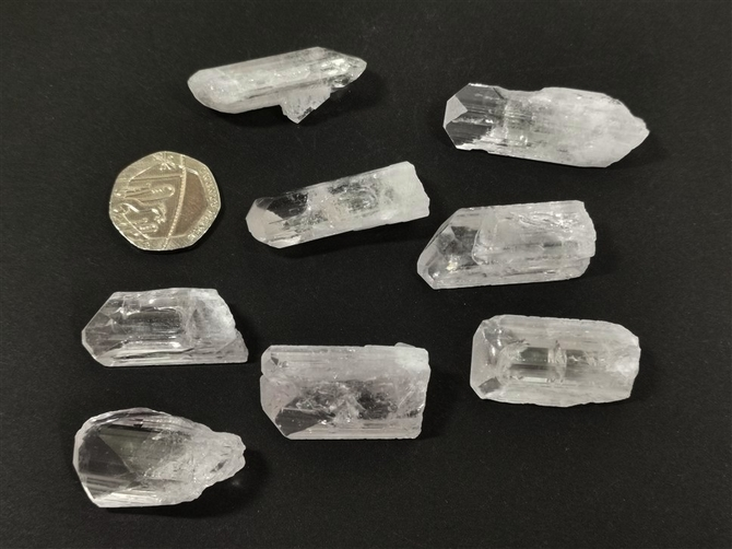 Danburite Crystal Points