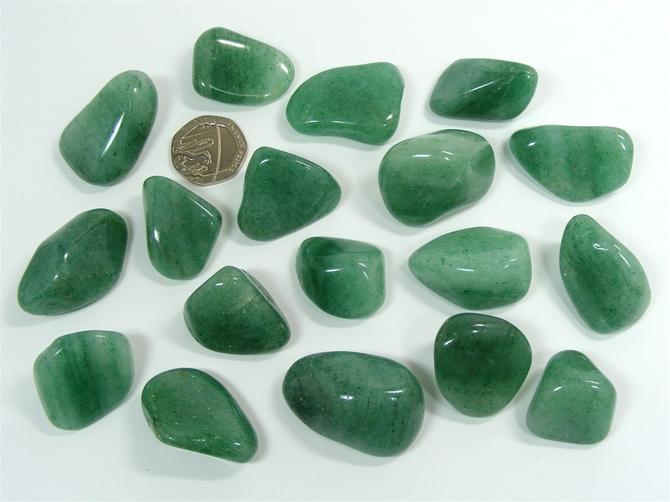 Aventurine - Green, Tumble Stone