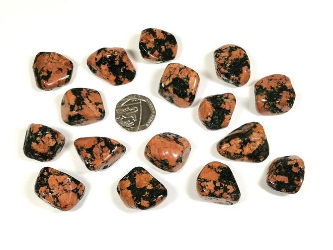 Luxullianite Tumble Stone