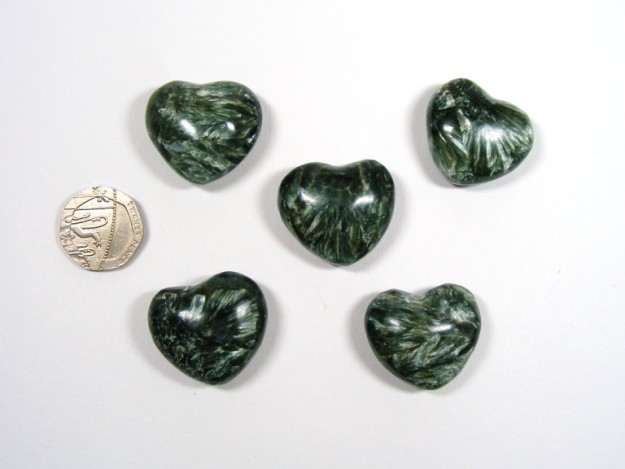 Seraphinite Mini Heart