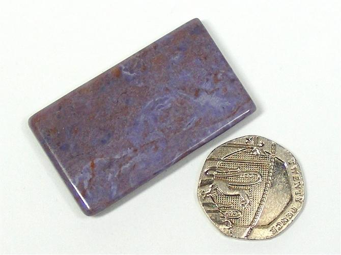 Purple Jade Polished Slice No6